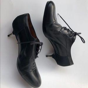 Dries van noten black leather SZ7.5 Oxford shoes
